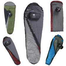 10T Sac de couchage en forme de couverture ou de momie - avec sac de compression