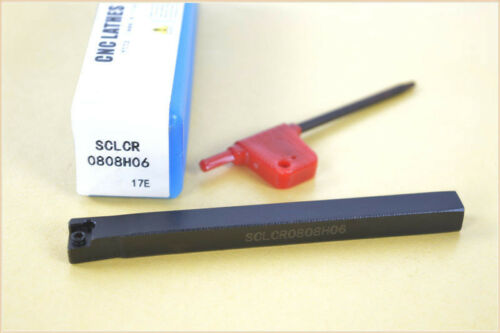 SCLCR0808H06(08x100mm)External Turning Tool Holder Boring Bars for CCMT0602 CNC