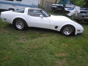 1981 Corvette Certified $12900