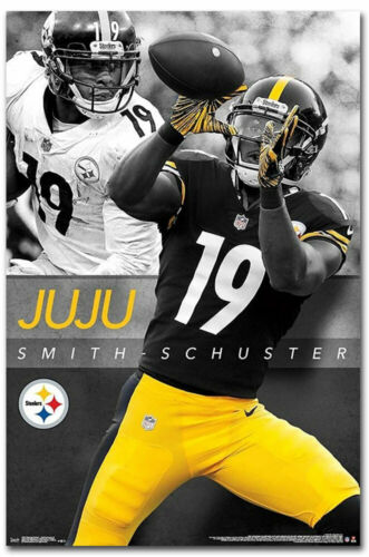 "Pittsburgh Steelers JuJu Smith Schuster Fridge Magnet Size 2.5/"" x 3.7/"""