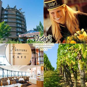 Wochenende-Reise-4-Hotel-Victor-039-s-Residenz-Frankenthal-Pfalz-3T2P-im-Komfort-DZ