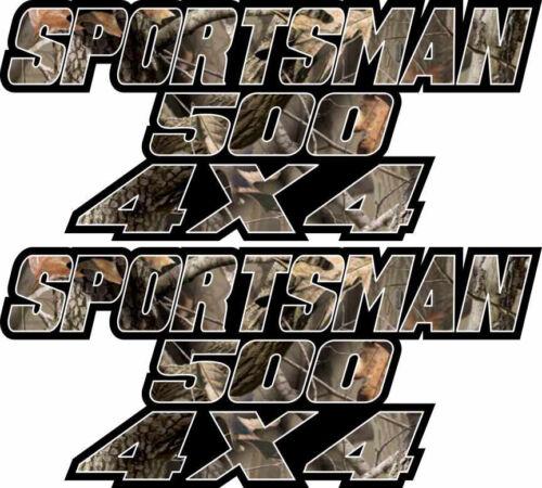 Sportsman 500 4x4 Camo Gas Tank Graphics Decal Sticker Atv Truck Quad Plastic