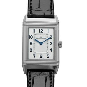 JAEGER LECOULTRE Reverso Q2548440 Silver Dial Men's Watch Genuine FreeS&H
