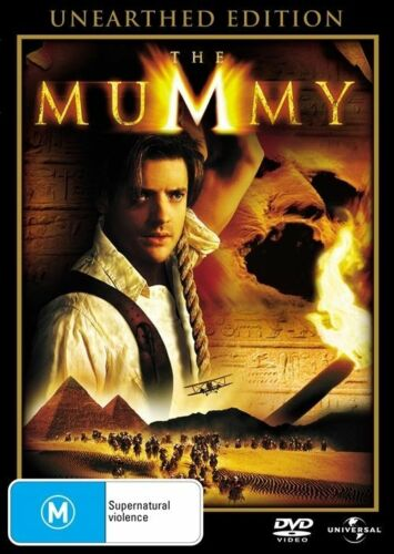 1 of 1 - The Mummy Unearthed Edition DVD R4 🇦🇺PAL Brendan Fraser, Brand New Sealed