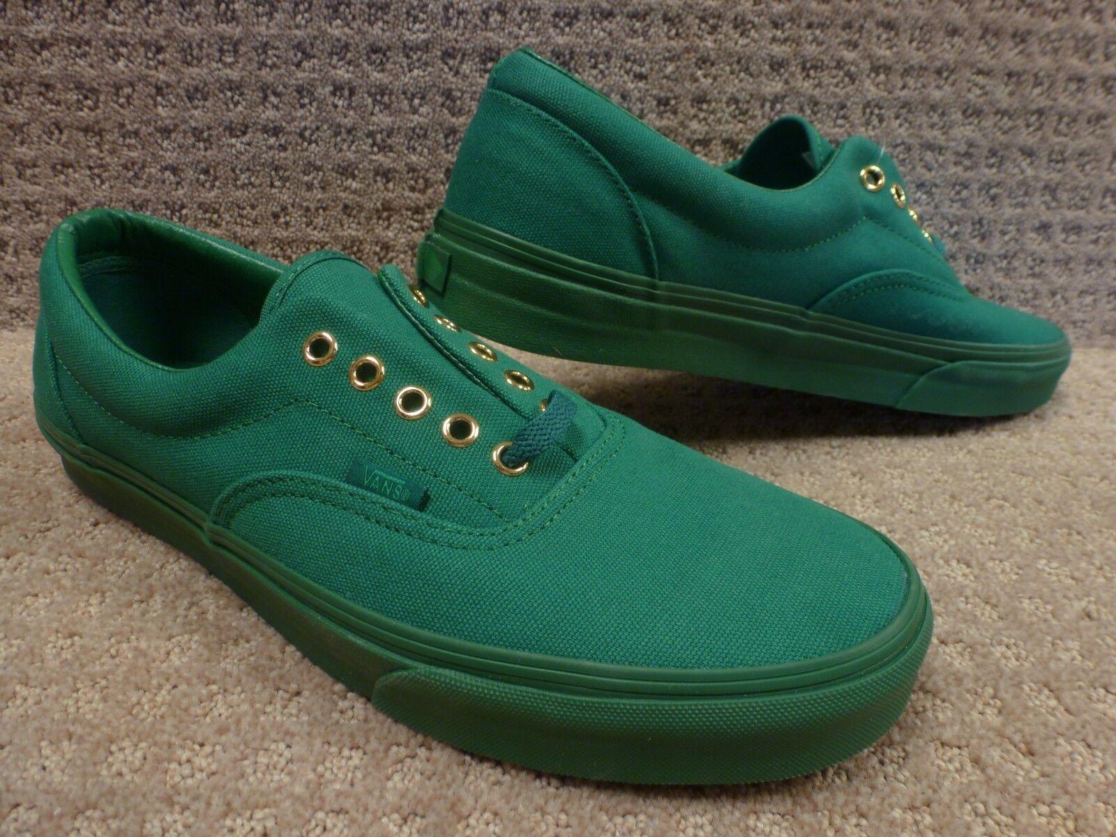 Vans Men's shoes   Era   -- (gold Mono) Verdant Green