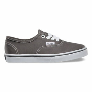 1c8a1e3f8ca Vans Authentic Lo Pro Kids 10.5 Pewter Grey Gray Skate Shoes ...