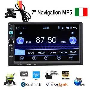 7-034-2-DIN-AUTORADIO-STEREO-MP5-1080P-LETTORE-RADIO-U-Disk-BLUETOOTH-TELECAMERA
