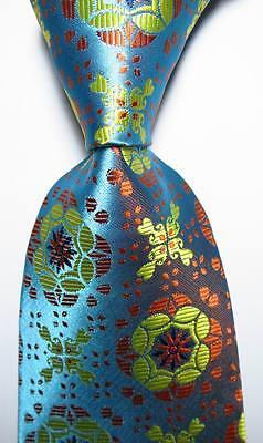 New Classic Geometric Gold Black JACQUARD WOVEN 100/% Silk Men/'s Tie Necktie