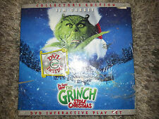 HOW THE GRINCH STOLE CHRISMTAS DVD 3-D Whoville Play Set COLLECTOR'S EDITION New
