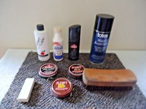 Mixed-Lot-Of-Shoe-Care-Products-Polish-Conditioner-etc-034-GREAT-MIXED-LOT-034