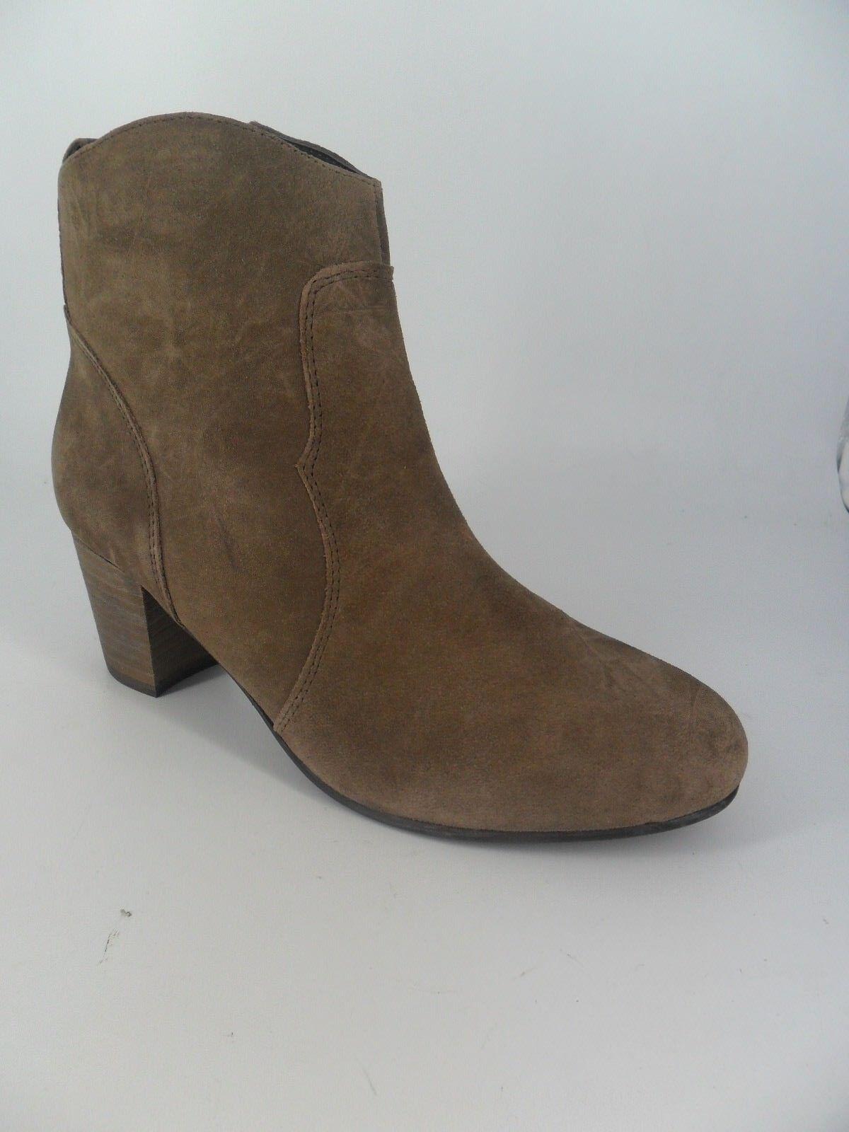 Next Ladie's Suede Ankle Stiefel's braun Größe UK 6 EU 39 NH087 PP 06