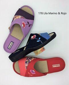 DeValverde Scuffs - Ladies -  178 Lila Marino Rojo