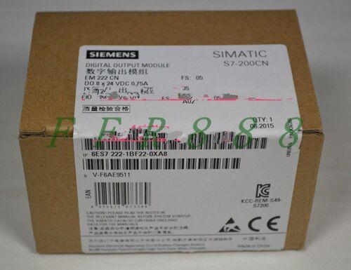 NEW Siemens EM222CN 6ES7 222-1BF22-0XA8