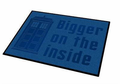 Doctor Who Bigger On The Inside Welcome Door Mat
