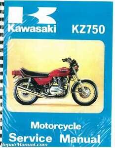 image is loading 1976-1979-kawasaki-kz750-b-twin-motorcycle-service-