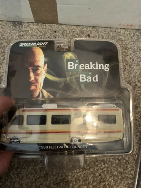 Limited Edition 1986 Fleetwood Bounder RV Breaking Bad 1//43 Diecast Model Car by Greenlight 86500 2008-13 TV Series