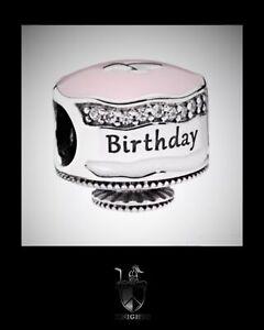 Stupendous Pandora Retired Happy Birthday Cake Charm Item No 792061Enmx Ebay Birthday Cards Printable Opercafe Filternl