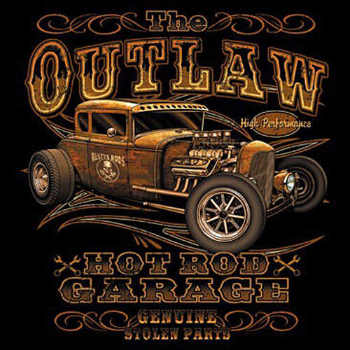 T-Shirt Classic Hot Rod Oldtimer Rockabilly Kustom Oldschool  Vintage Car *1247