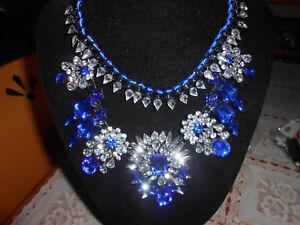 COLLANA swarowski Belen necklage-orecchini bracciale anello argento oro  resina - Italia - COLLANA swarowski 6b5b7bdcc49c