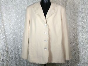 aff8b00b1c1 Image is loading Josephine-Chaus-womens-size-14-Jacket-Blazer-silk-