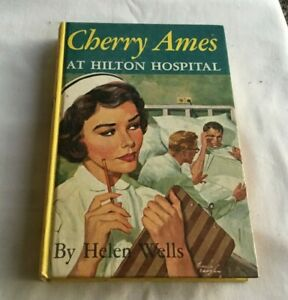 1959-Cherry-Ames-Book-AT-HILTON-HOSPITAL-by-Helen-Wells-Grosset-amp-Dunlap