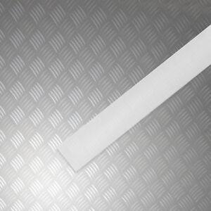 Acrylglas Plexiglas Profil Leiste Neu Satiniert Weiss 3mm