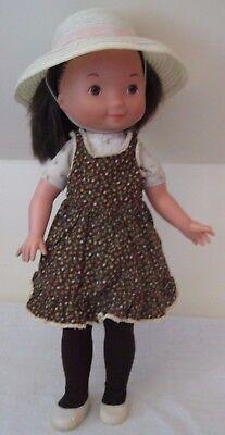 """1978 Fisher Price """"My Friend Jenny"""" 16"""" Doll w/ Original Dress, Hat, & Shoes"""