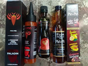 piri piri hot sauce from portugal calv calve paladin piri. Black Bedroom Furniture Sets. Home Design Ideas