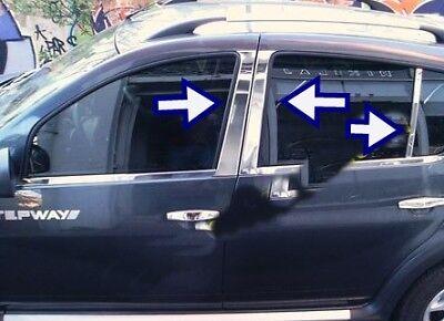VW Passat 3B Saloon 1996-2005 Chrome Side Door Streamer 4Pcs 4Door S.Steel