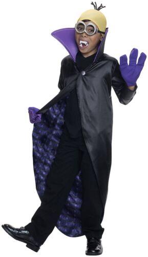 Garçons Minion Dracula méprisable Me Halloween Costume Robe fantaisie enfant costume