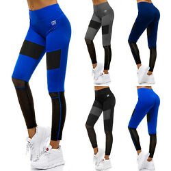 Leggings Sport Yoga Fitness Leggins Jogginghose Trainingshose Hose Damen OZONEE