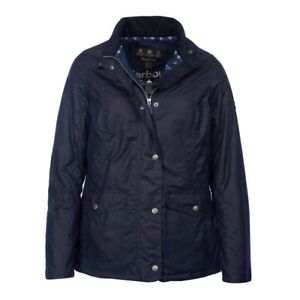 Mesdames Barbour Sandsend Cire Veste Taille 10 Bnwt