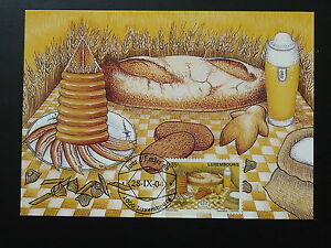 food bread beer gastronomy maximum card Luxembourg 2004 - Save on shipping: fee for the 1st item only!, United Kingdom - food bread beer gastronomy maximum card Luxembourg 2004 - Save on shipping: fee for the 1st item only!, United Kingdom