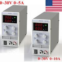Adjustable Regulated Digital Display Dc Power Supply Output 30v 5/10a Variable