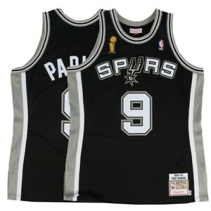 super popular dc7c5 23b6b Details about 2002-03 Tony Parker NBA San Antonio Spurs Mitchell & Ness  Authentic Away Jersey