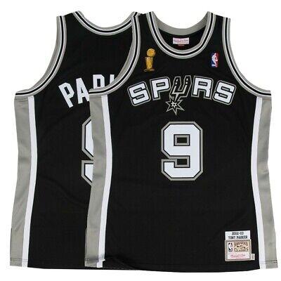 NBA San Antonio Spurs Tim Duncan 2002//03 Road Finals Authentic Jersey Shirt Top