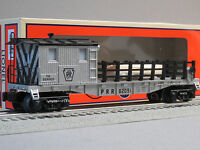Lionel Prr Tie Work Caboose Illuminated O Gauge Train Rail Ties Lighted 6-82091
