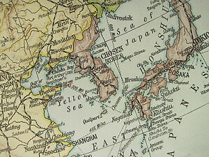 Large Map Of Asia.1919 Large Map Asia Political India Arabia Tibet China Japan
