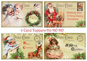 Cartoline Di Natale Vittoriane.Dettagli Su Cartolina Di Natale Decorazioni Per Vittoriano Natale Card Making 4 Decorazioni Per Scrapbook Craft Mostra Il Titolo Originale