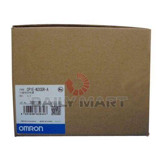 OMRON Programmable Controller CP1E-N30DR-A CP1EN30DRA Original New in Box NIB