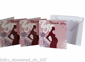 Baby Shower Party games favors  mum to be  20 x THANK YOU CARD with envelopes - Wakefield, United Kingdom - Baby Shower Party games favors  mum to be  20 x THANK YOU CARD with envelopes - Wakefield, United Kingdom