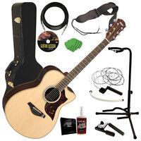 Yamaha Ac3r Acoustic-electric Guitar Complete Guitar Bundle