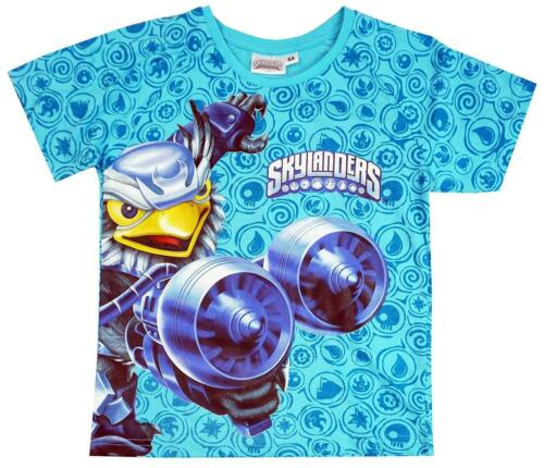 Boys Skylanders Giants Jet-Vac Cotton T-Shirt Summer Top 3 to 8 Years