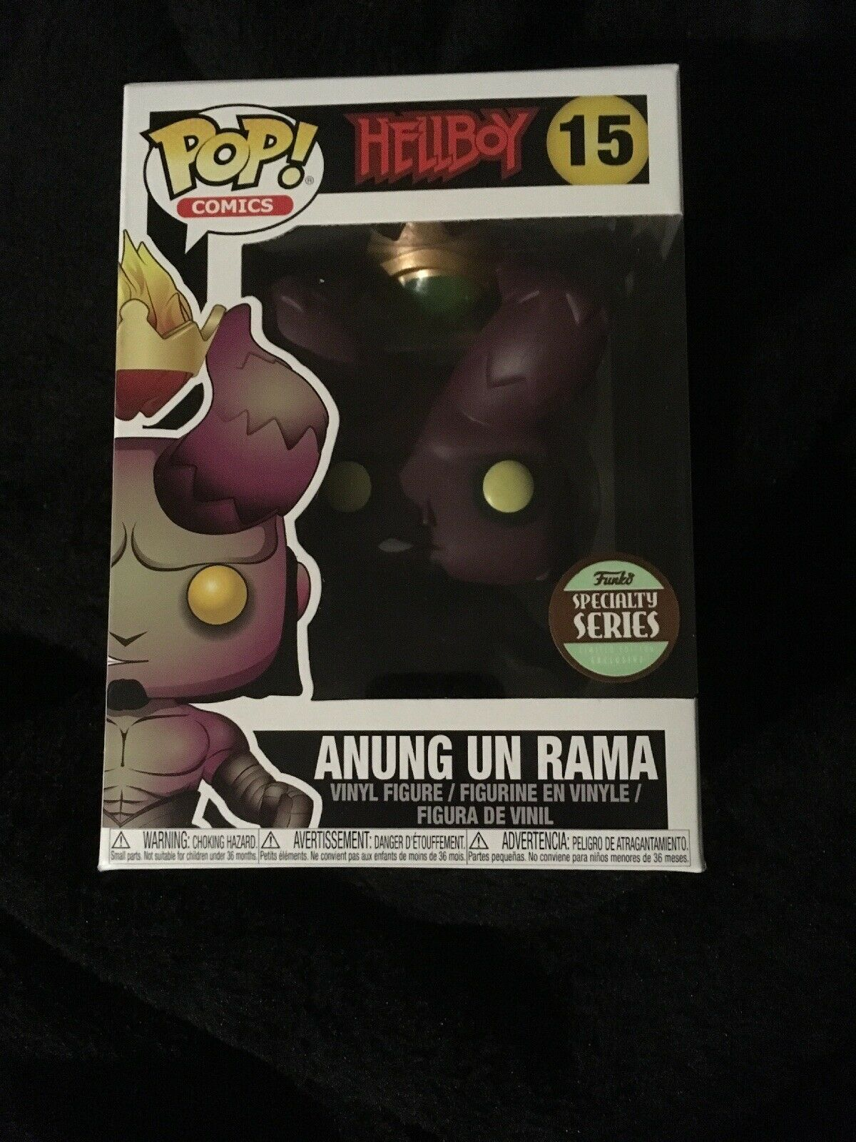 Hellboy Anung Un Rama Funko Pop Exclusive Specialty Series