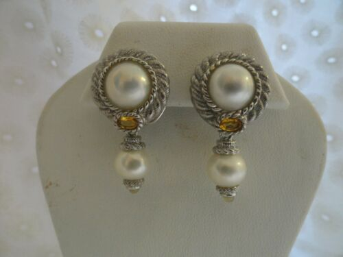 JUDITH RIPKA MABE REMOVABLE FRESHWATER PEARL CITRI