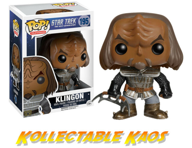 Star Trek - The Next Generation - Klingon Pop! Vinyl Figure