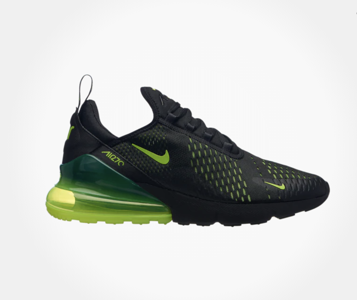 sports shoes 7b988 99057 New NIKE NIKE NIKE AIR MAX 270 H8050017 Black Volt Black Oil Grey Mens shoes  c1 ...