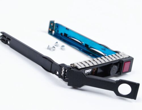 """HP DL380P DL380 DL360 G8 G9 2.5/"""" HDD Tray Caddy 651687-001 651699-001 w// Chips"""
