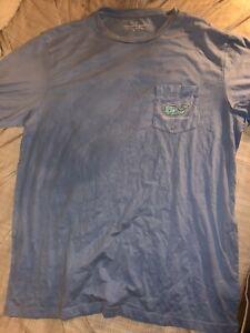 Vineyard-Vines-Men-NWOT-Size-Large-Light-Blue-Pocket-Tee-T-Shirt