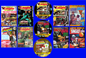 Eagle Series 2 (1-505 Complete) Comics On 3 PC DVD Rom's (.CBR) Plus 30 Annuals